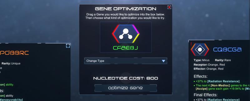 GeneOptimizationMenu